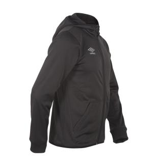 UMBRO Core Tech Hood Zip jr Sort 128 Teknisk jakke med hette